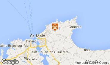 Carte Saint Malo Maison 40211