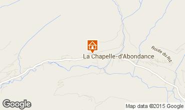 Carte La Chapelle d'Abondance Chalet 94027