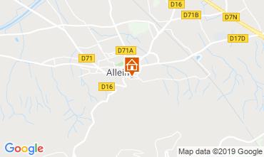 Carte Alleins Villa 110556