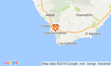 Carte Los Cristianos Appartement 115856
