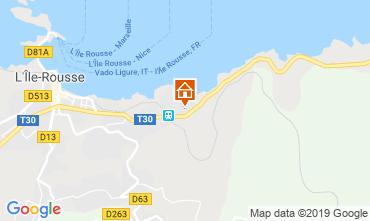 Carte Ile Rousse Appartement 16871