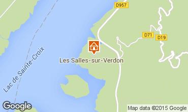 Carte Les Salles sur Verdon Appartement 77282