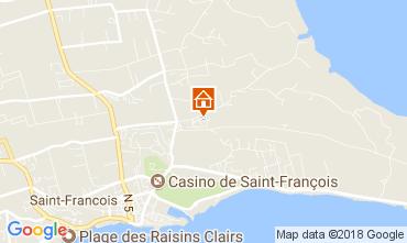 Carte Saint Francois Gite 16331