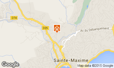 Carte Sainte Maxime Villa 100051