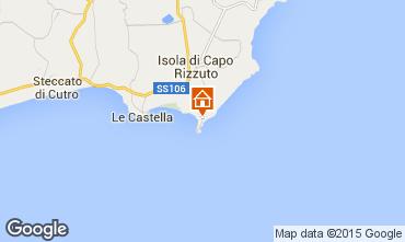 Carte Isola di Capo Rizzuto Appartement 86613