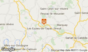 Carte Les Eyzies de Tayac Maison 12513