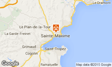 Carte Sainte Maxime Maison 22491