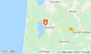 Carte Lacanau Maison 6715