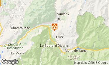 Carte Alpe d'Huez Chalet 65949