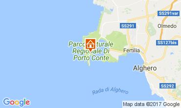 Carte Alghero Villa 107841