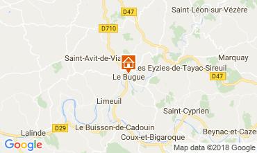 Carte Le Bugue Gite 114106