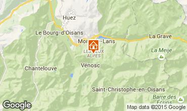 Carte Les 2 Alpes Appartement 58188