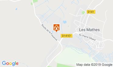 Carte Les Mathes Mobil-home 118043