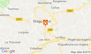 Carte Draguignan Gite 99659