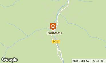 Carte Cauterets Appartement 4095