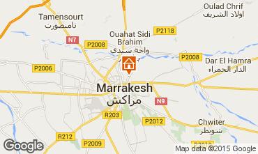 Carte Marrakech Villa 14094