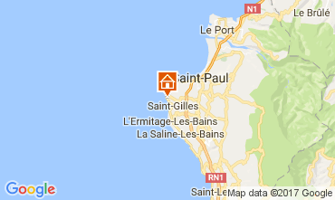 Carte Saint Gilles Villa 9874