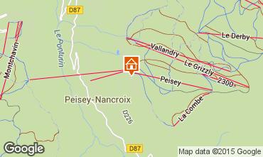 Carte Peisey-Vallandry Appartement 4750