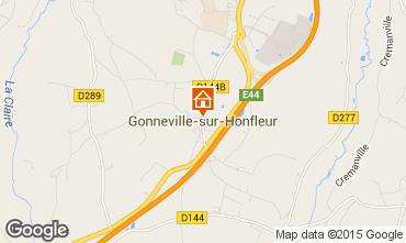 Carte Honfleur Gite 61976