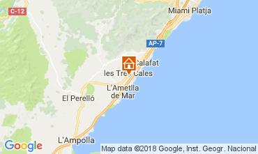 Carte La Ametlla de Mar Villa 113378