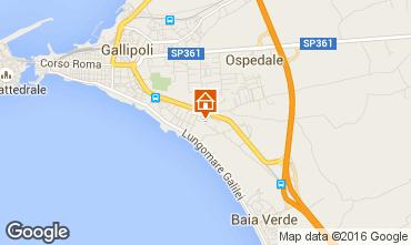 Carte Gallipoli Appartement 97119