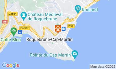 Carte Roquebrune Cap Martin Studio 87369