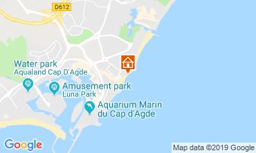 Carte Cap d'Agde Appartement 105870
