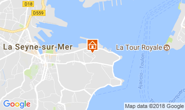 Carte La Seyne sur Mer Appartement 114836