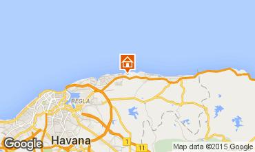Carte La Havane Villa 88660