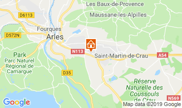 Carte Arles Gite 119570