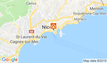 Carte Nice Appartement 32914