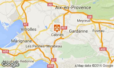 Carte Aix en Provence Appartement 85504