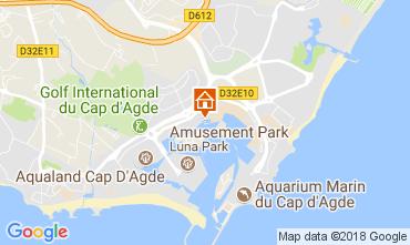 Carte Cap d'Agde Appartement 113019