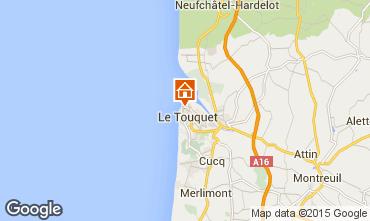 Carte Le Touquet Villa 101677
