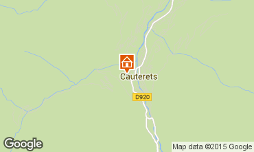 Carte Cauterets Studio 4080