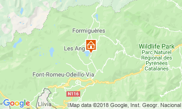 Carte Les Angles Chalet 116825
