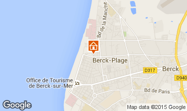 Carte Berck-Plage Studio 71256