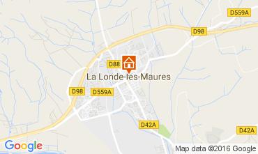 Carte La Londe les Maures Villa 97056