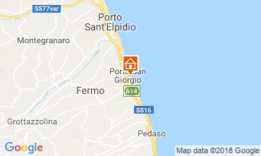 Carte Porto San Giorgio Appartement 117599