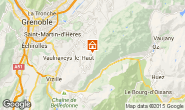 Carte Chamrousse Appartement 100483