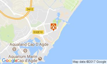 Carte Cap d'Agde Studio 102337