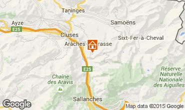Carte Les Carroz d'Araches Chalet 80383