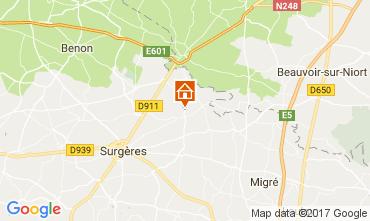 Carte La Rochelle Villa 107743