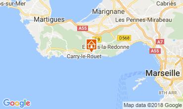 Carte Carry le Rouet Villa 105398