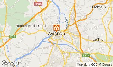 Carte Avignon Villa 83403