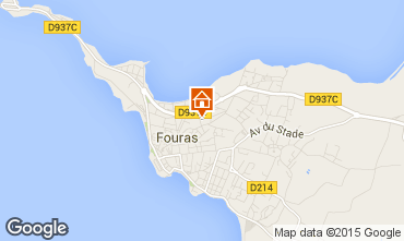 Carte Fouras Villa 90404