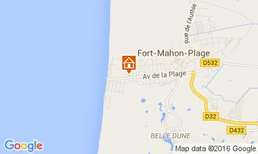Carte Fort Mahon Appartement 105646