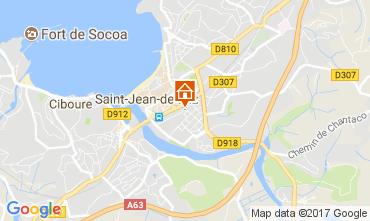 Carte Saint Jean de Luz Appartement 112759
