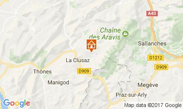Carte La Clusaz Chalet 112531
