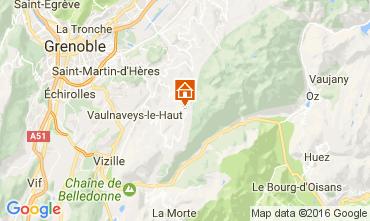 Carte Chamrousse Appartement 107456